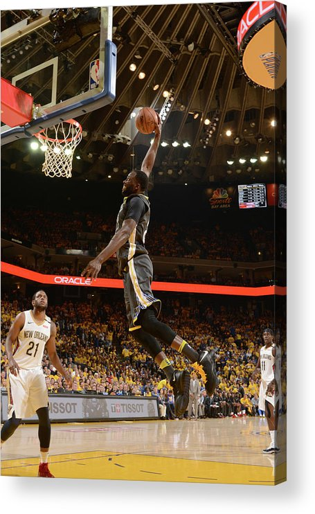 Playoffs Acrylic Print featuring the photograph Draymond Green by Noah Graham