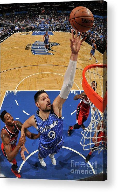 Nba Pro Basketball Acrylic Print featuring the photograph Dwight Howard by Fernando Medina