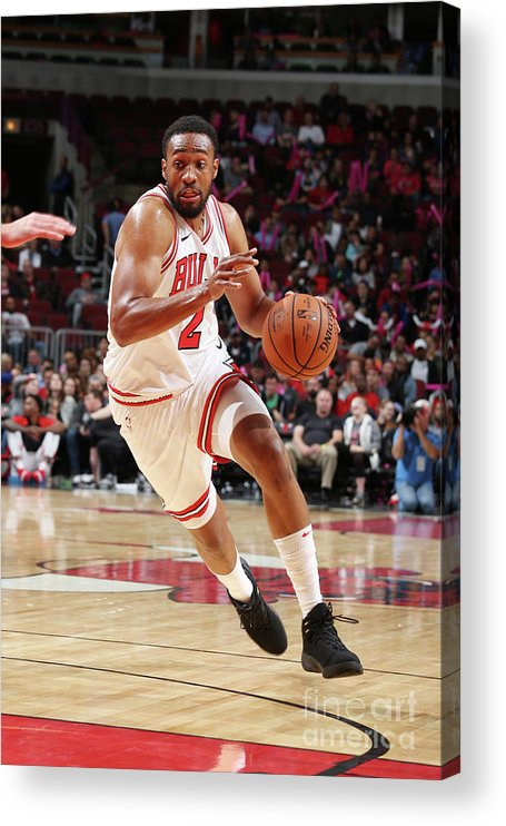 Nba Pro Basketball Acrylic Print featuring the photograph Jabari Parker by Gary Dineen