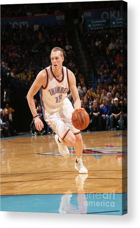 Nba Pro Basketball Acrylic Print featuring the photograph Kyle Singler by Layne Murdoch