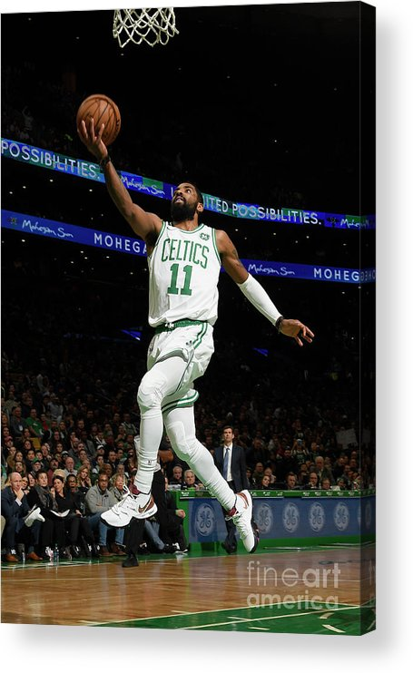 Nba Pro Basketball Acrylic Print featuring the photograph Kyrie Irving by Brian Babineau