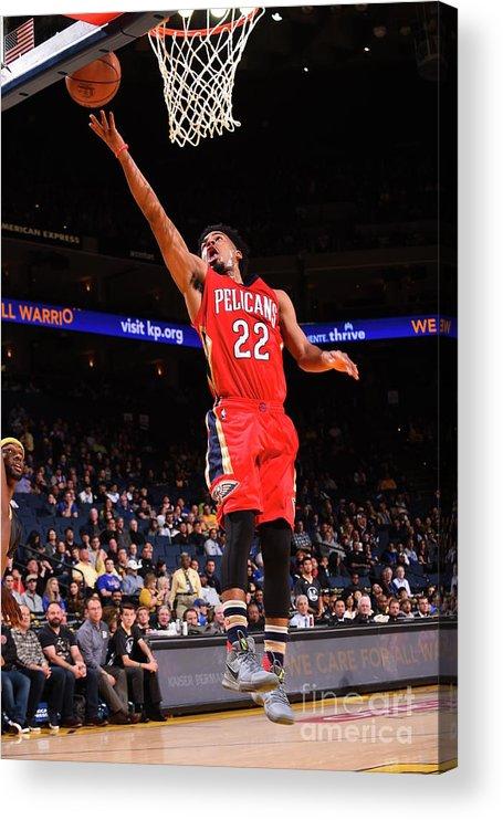 Nba Pro Basketball Acrylic Print featuring the photograph Quinn Cook by Noah Graham