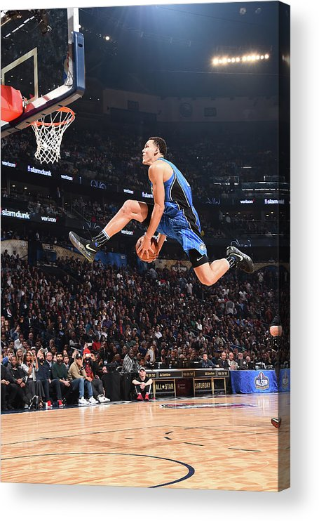 Event Acrylic Print featuring the photograph Aaron Gordon by Andrew D. Bernstein
