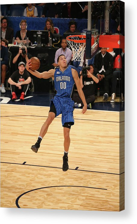 Event Acrylic Print featuring the photograph Aaron Gordon by Gary Dineen