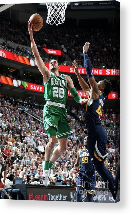 Nba Pro Basketball Acrylic Print featuring the photograph Abdel Nader by Melissa Majchrzak
