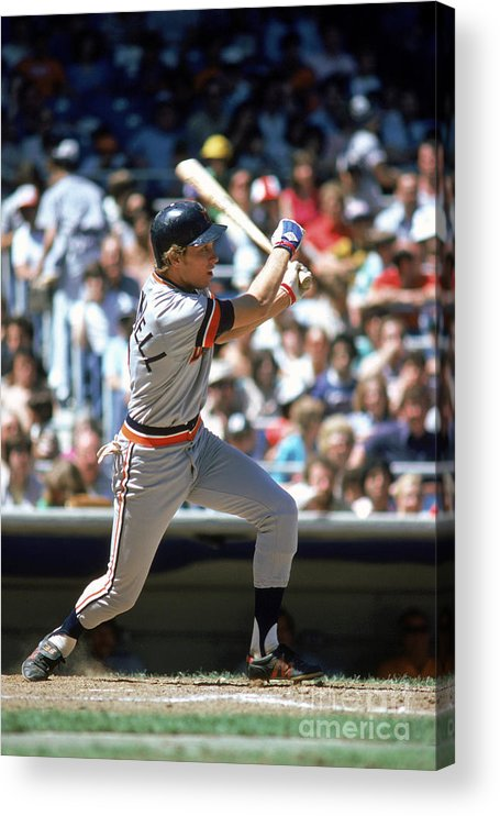 1980-1989 Acrylic Print featuring the photograph Alan Trammell by Rich Pilling