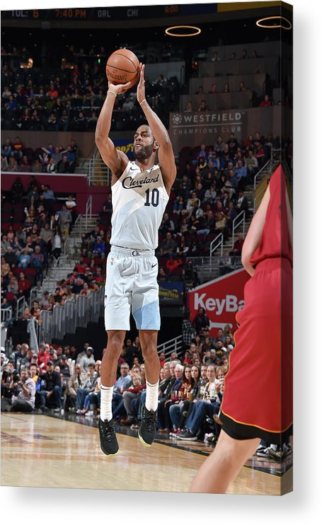 Nba Pro Basketball Acrylic Print featuring the photograph Alec Burks by David Liam Kyle