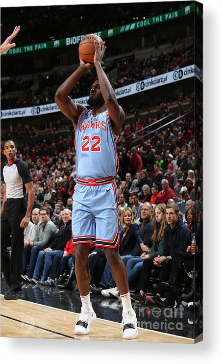 Nba Pro Basketball Acrylic Print featuring the photograph Alex Poythress by Gary Dineen