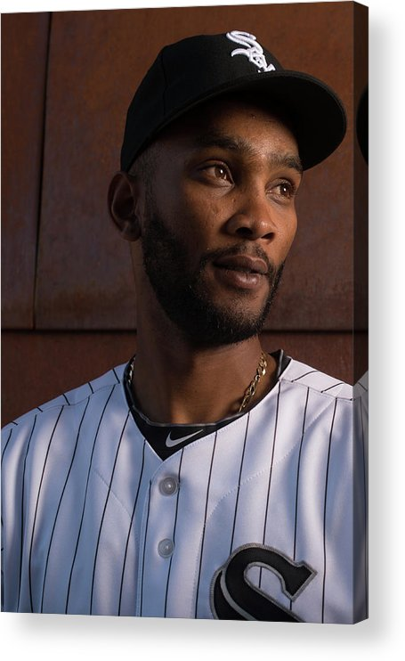 Media Day Acrylic Print featuring the photograph Alexei Ramirez by Rob Tringali