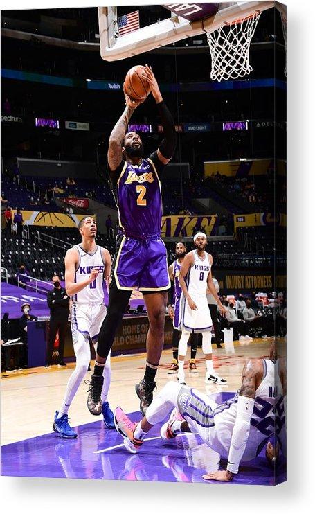 Nba Pro Basketball Acrylic Print featuring the photograph Andre Drummond by Adam Pantozzi