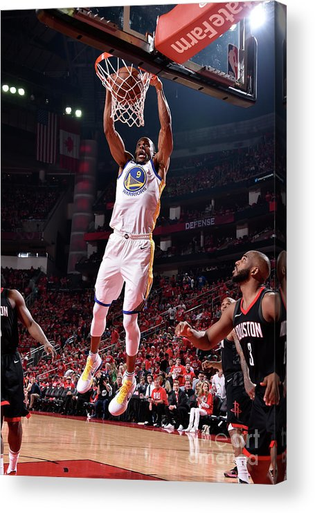Playoffs Acrylic Print featuring the photograph Andre Iguodala by Bill Baptist