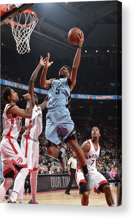 Nba Pro Basketball Acrylic Print featuring the photograph Andrew Harrison by Ron Turenne