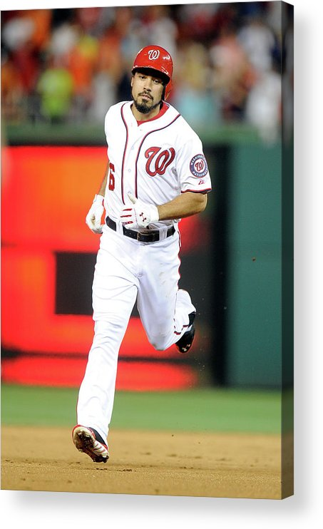 American League Baseball Acrylic Print featuring the photograph Anthony Rendon by Greg Fiume