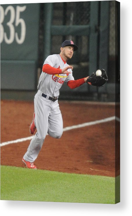 St. Louis Cardinals Acrylic Print featuring the photograph Anthony Rendon by Mitchell Layton