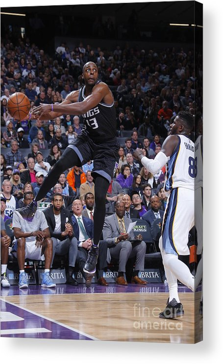 Nba Pro Basketball Acrylic Print featuring the photograph Anthony Tolliver by Rocky Widner