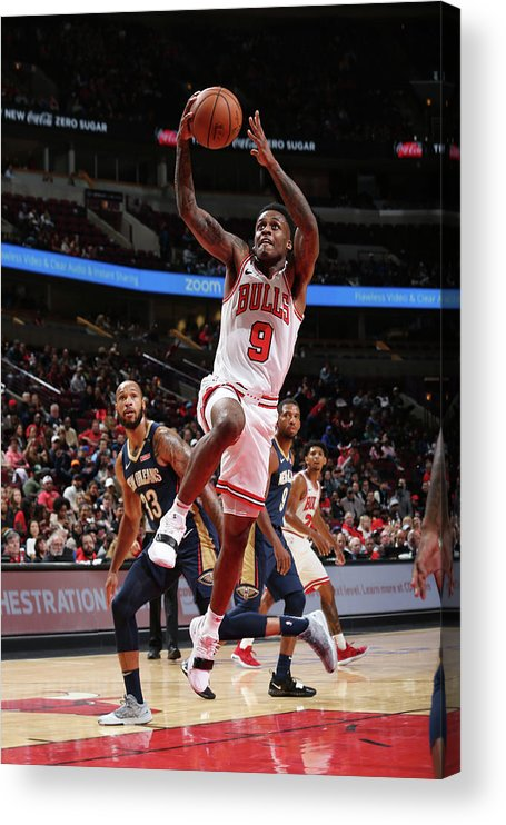 Nba Pro Basketball Acrylic Print featuring the photograph Antonio Blakeney by Gary Dineen