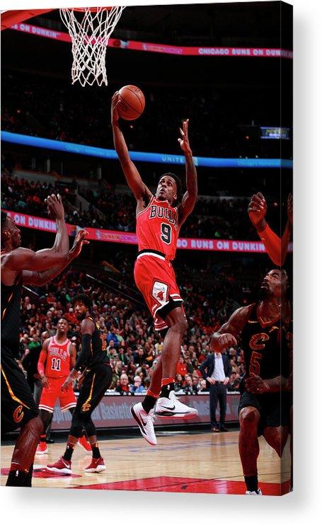 United Center Acrylic Print featuring the photograph Antonio Blakeney by Jeff Haynes