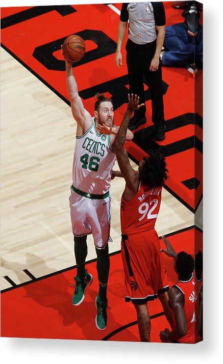 Nba Pro Basketball Acrylic Print featuring the photograph Aron Baynes by Mark Blinch