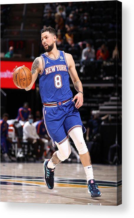 Nba Pro Basketball Acrylic Print featuring the photograph Austin Rivers by Melissa Majchrzak