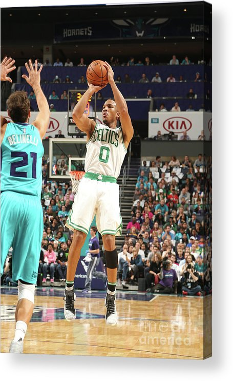 Nba Pro Basketball Acrylic Print featuring the photograph Avery Bradley by Kent Smith