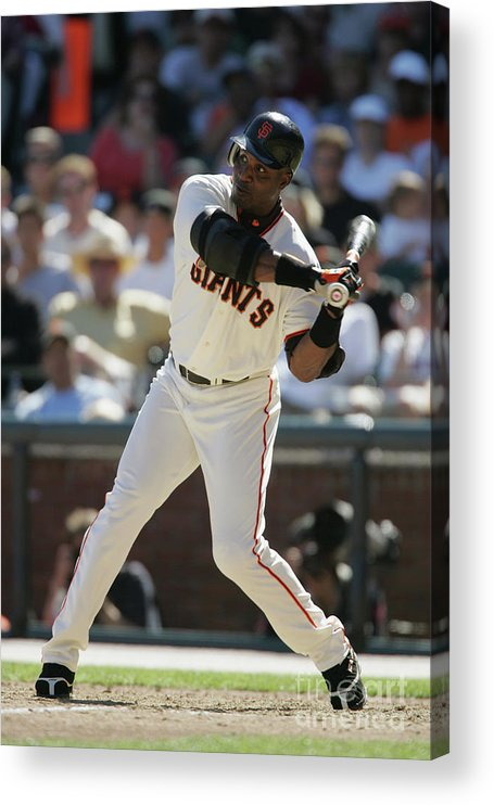 San Francisco Acrylic Print featuring the photograph Barry Bonds by Brad Mangin
