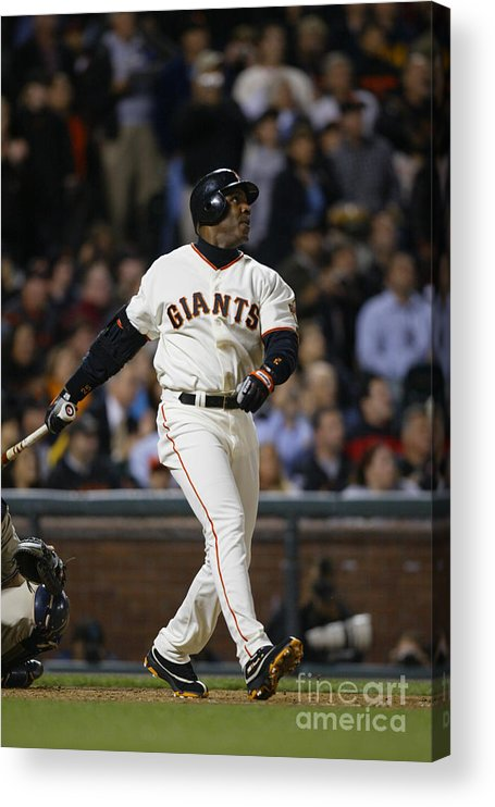 San Francisco Acrylic Print featuring the photograph Barry Bonds by Don Smith