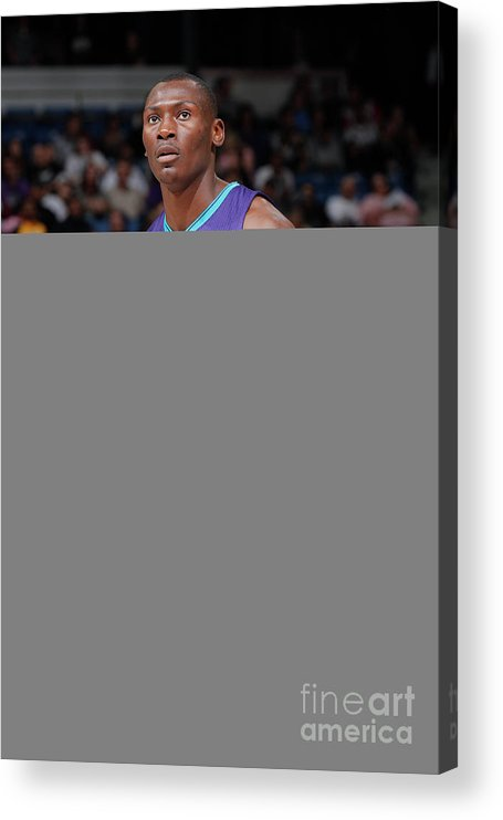 Nba Pro Basketball Acrylic Print featuring the photograph Bismack Biyombo by Rocky Widner
