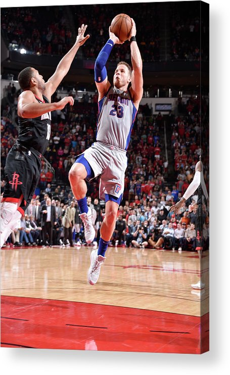Sports Ball Acrylic Print featuring the photograph Blake Griffin by Bill Baptist