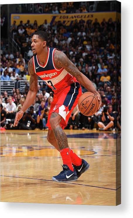 Nba Pro Basketball Acrylic Print featuring the photograph Bradley Beal by Andrew D. Bernstein