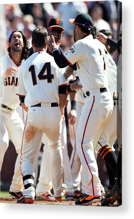San Francisco Acrylic Print featuring the photograph Brandon League by Jason O. Watson