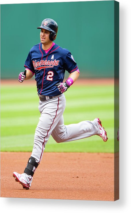 People Acrylic Print featuring the photograph Brian Dozier by Jason Miller