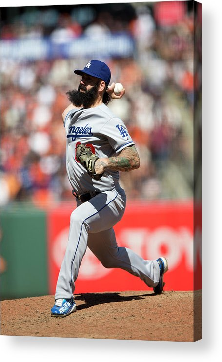 San Francisco Acrylic Print featuring the photograph Brian Wilson by Jason O. Watson
