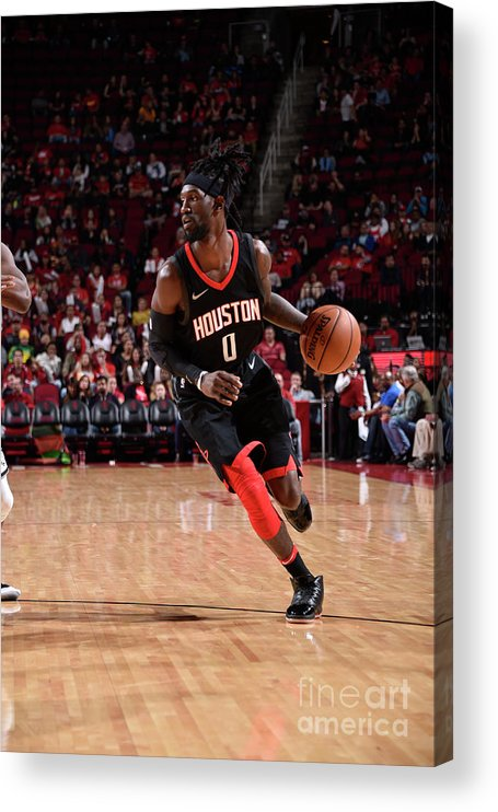 Nba Pro Basketball Acrylic Print featuring the photograph Briante Weber by Bill Baptist