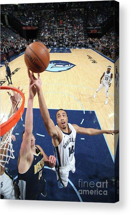 Nba Pro Basketball Acrylic Print featuring the photograph Brice Johnson by Joe Murphy