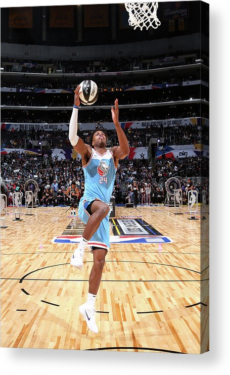 Event Acrylic Print featuring the photograph Buddy Hield by Nathaniel S. Butler