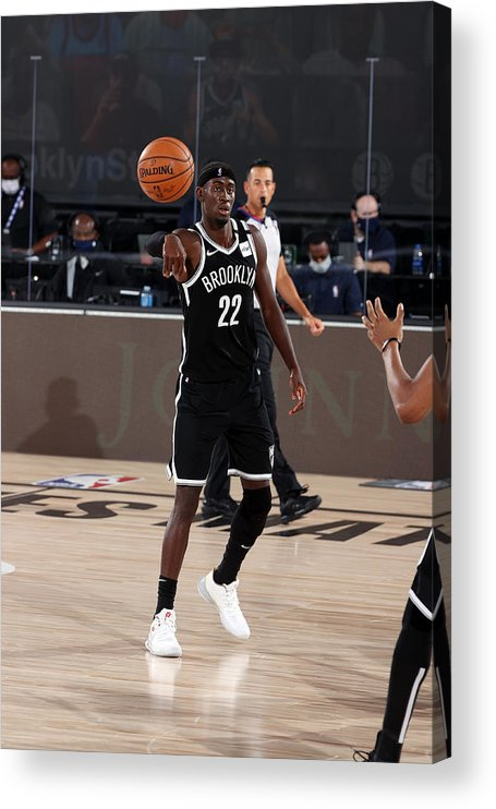 Nba Pro Basketball Acrylic Print featuring the photograph Caris Levert by David Sherman