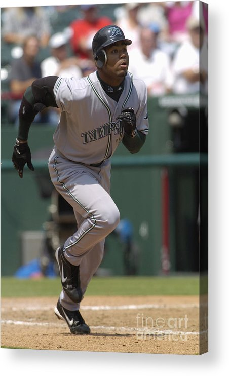 American League Baseball Acrylic Print featuring the photograph Carl Ray by John Williamson