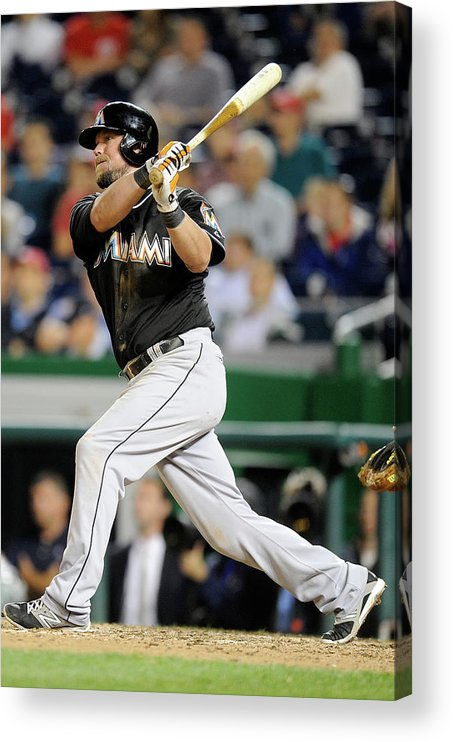 American League Baseball Acrylic Print featuring the photograph Casey Mcgehee by Greg Fiume