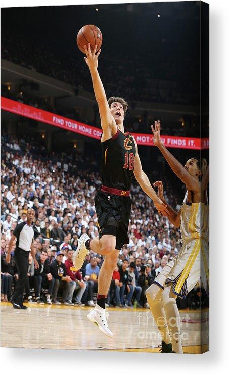 Nba Pro Basketball Acrylic Print featuring the photograph Cedi Osman by David Sherman
