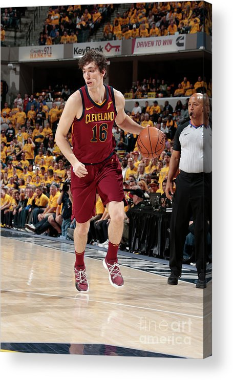 Playoffs Acrylic Print featuring the photograph Cedi Osman by Ron Hoskins