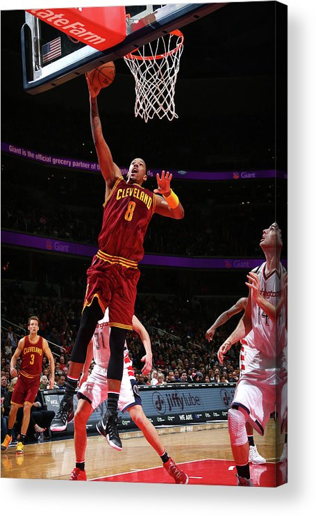 Nba Pro Basketball Acrylic Print featuring the photograph Channing Frye by Ned Dishman