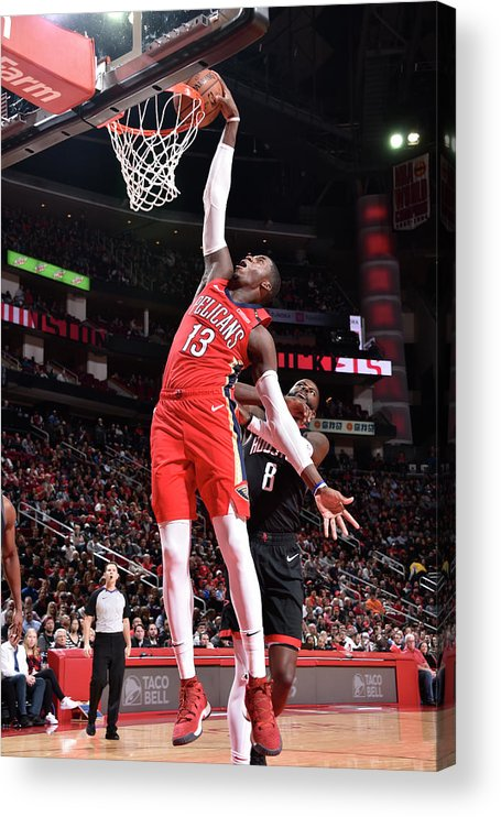 Nba Pro Basketball Acrylic Print featuring the photograph Cheick Diallo by Bill Baptist