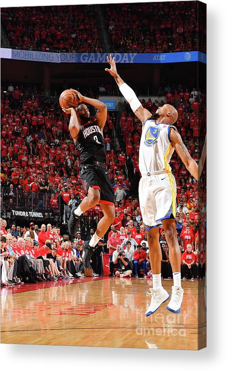 Playoffs Acrylic Print featuring the photograph Chris Paul by Jesse D. Garrabrant