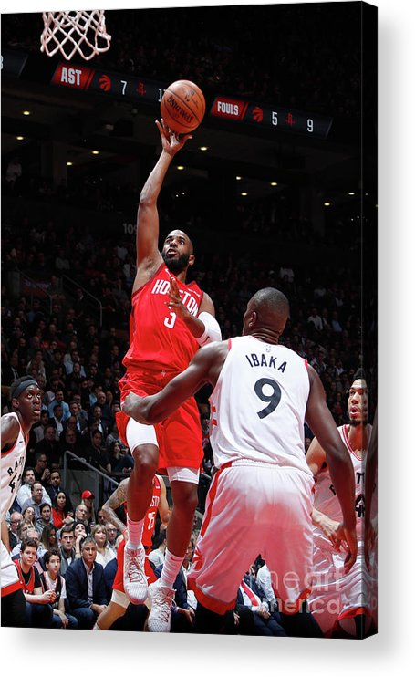 Nba Pro Basketball Acrylic Print featuring the photograph Chris Paul by Mark Blinch