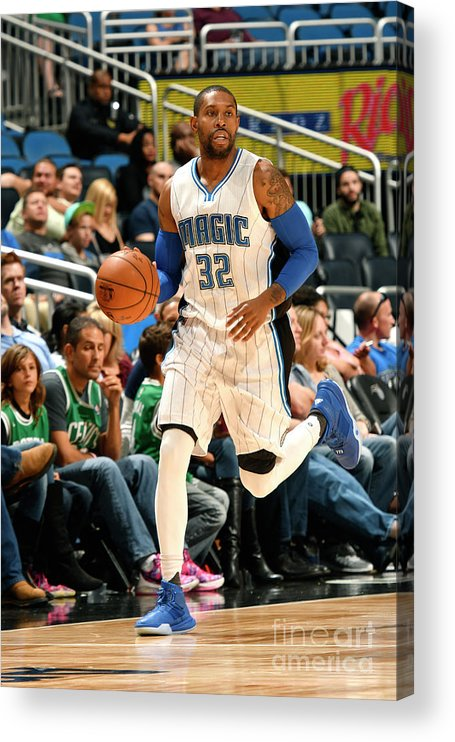 Nba Pro Basketball Acrylic Print featuring the photograph C.j. Watson by Fernando Medina