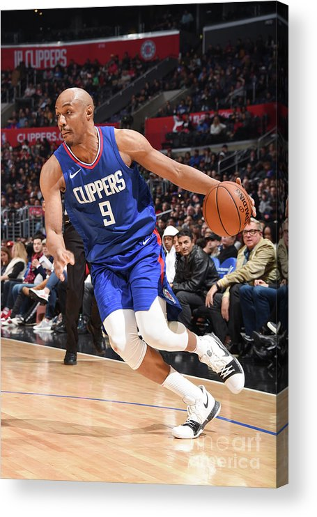 Nba Pro Basketball Acrylic Print featuring the photograph C.j. Williams by Andrew D. Bernstein