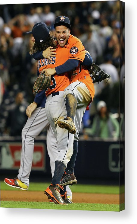 Playoffs Acrylic Print featuring the photograph Colby Rasmus by Elsa