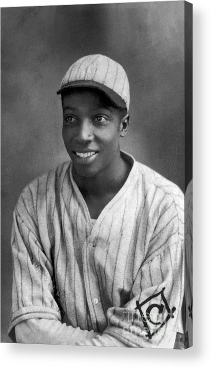 Cool Papa Bell Acrylic Print featuring the photograph Cool Papa Bell by National Baseball Hall Of Fame Library