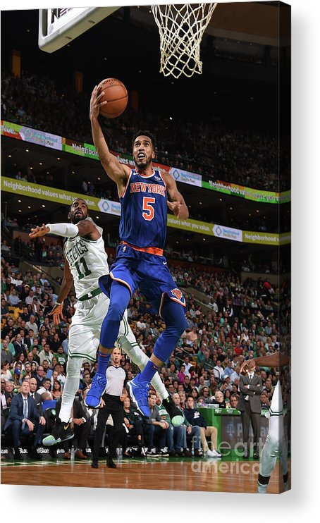 Nba Pro Basketball Acrylic Print featuring the photograph Courtney Lee by Brian Babineau