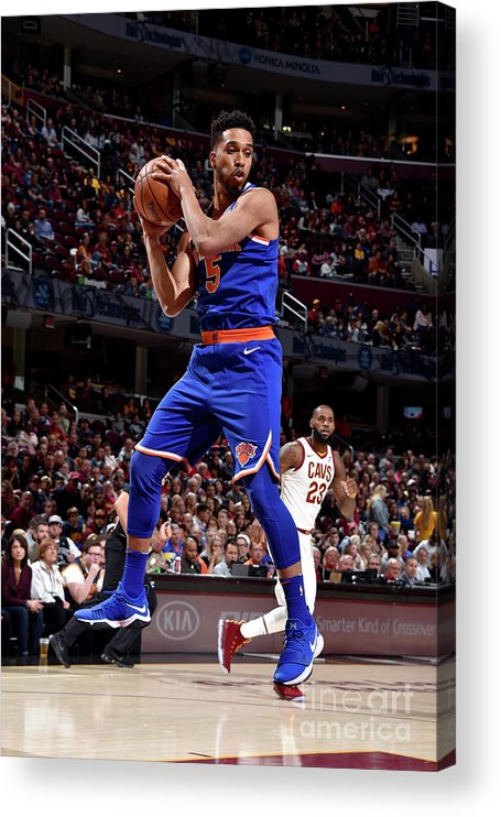 Nba Pro Basketball Acrylic Print featuring the photograph Courtney Lee by David Liam Kyle